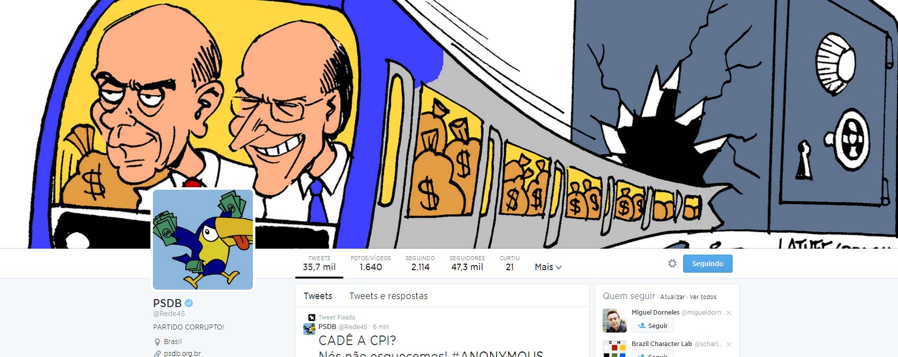 Capa PSDB