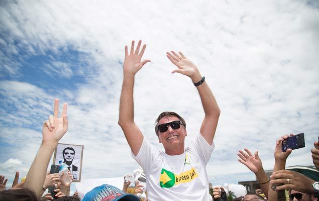 O deputado federal Jair Bolsonaro (PSC-RJ) - Ou 'Bolsomito', para os fãs (Foto: Ed Ferreira/Folhapress)