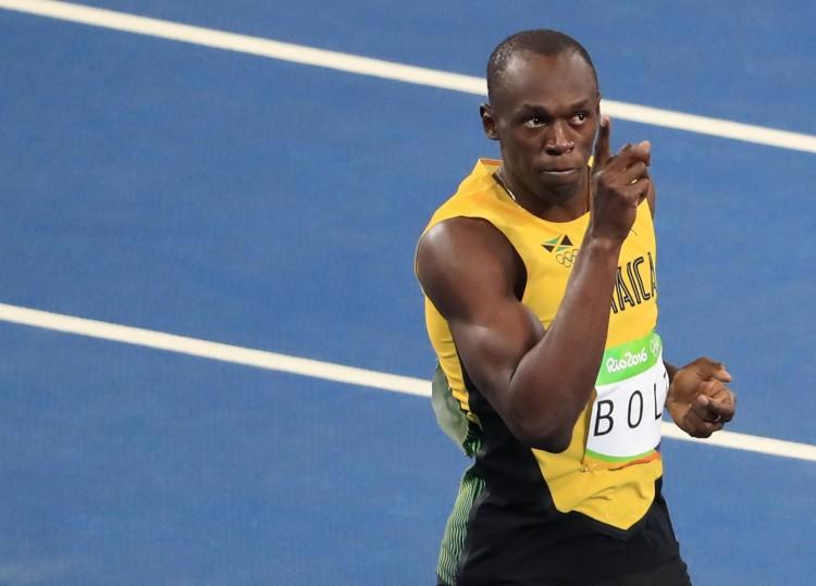 Usain Bolt na semifinal dos 100 m rasos. Foto: Dominic Ebenbichler/Reuters