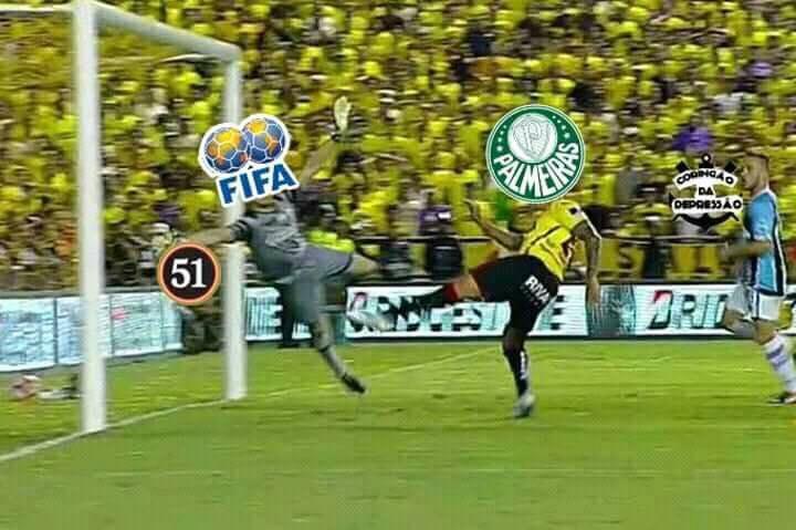 Debate na internet sobre Mundial do Palmeiras